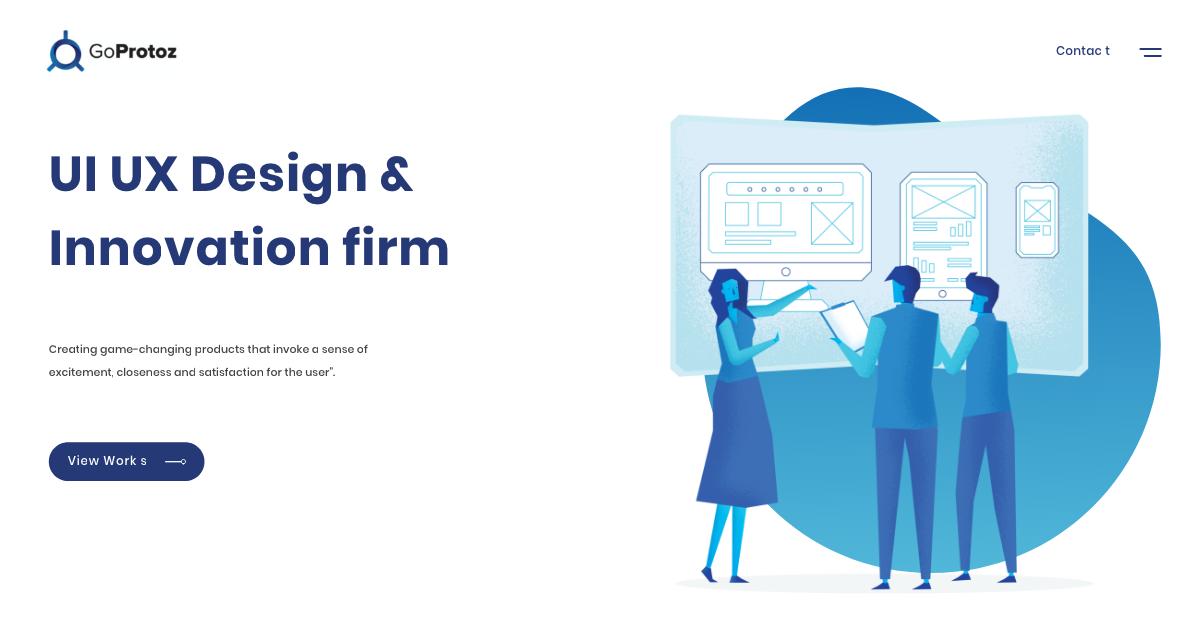 UI UX Design Agency | Creative UX Design Studio | GoProtoz